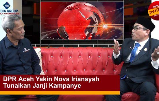 Nova Iriansyah Tunaikan Janji Kampanye