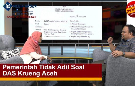 Pemerintah Tidak Adil Soal DAS Krueng Aceh