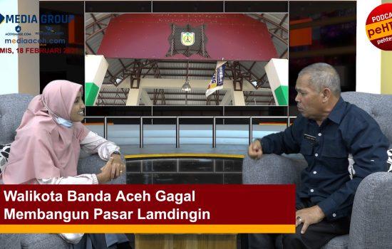Walikota Banda Aceh Gagal Membangun Pasar