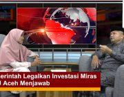 Pemerintah Legalkan Investasi Miras MPU Aceh Menjawab