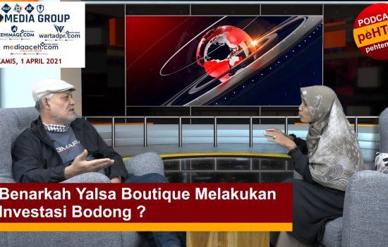 Benarkah Yalsa Boutique Melakukan Investasi Bodong ?